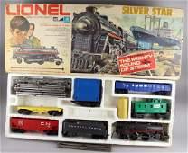 Lionel Silver Star  Wabash Train Sets In Box