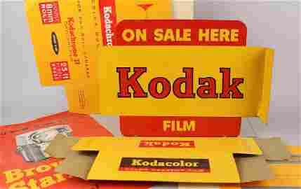 Kodak Porcelain Store Flange Sign & Displays