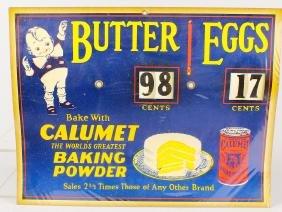 Calumet Baking Powder Advertisement Sign