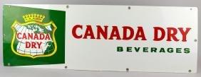 Canada Dry Metal Soda Sign