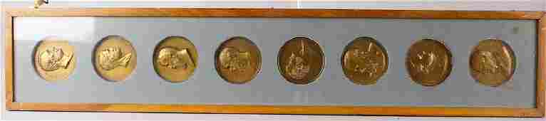 Presidential Bronzes Inauguration Medals 8