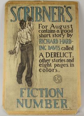 1900s Scribner's Poster Walter Appleton Clark