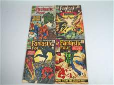 Marvel Fantastic Four Comic Lot 1960\'s