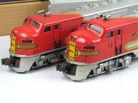 Lionel 2353 Santa Fe Lot