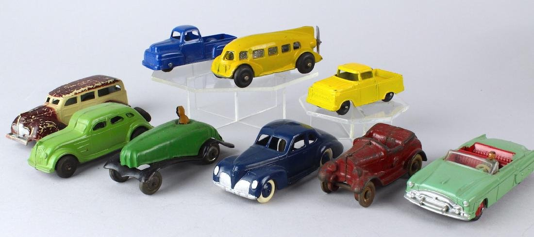 Tootsietoy  Dinky  Kilgore Autos & Die Cast Toy Lot
