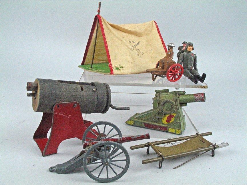 Manoil Cannon Lot