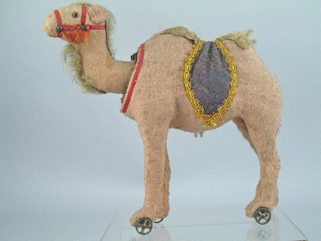 Steiff  Camel On Wheels