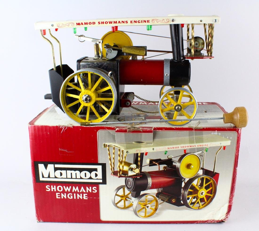 Mamod Showman's Engine Steam Engine in Box