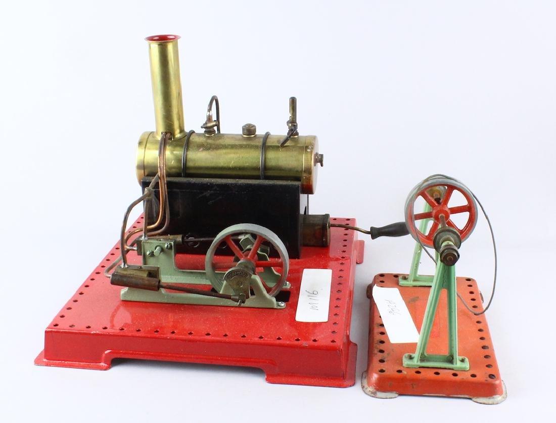 Mamod Brass Steam Engine & Shaft