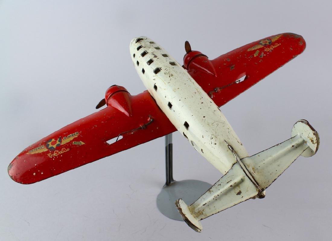 "Wyandotte Defense Bomber Airplane 13"""