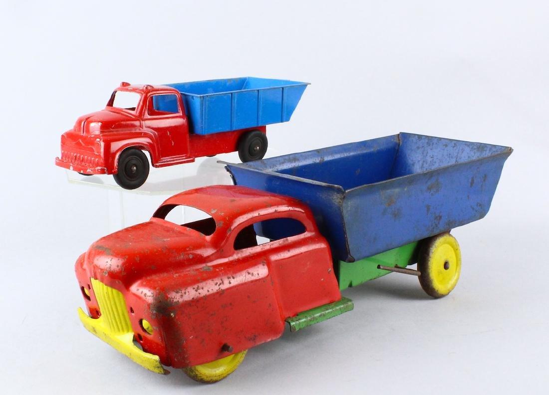 Wyandotte & Hubley Dump Trucks