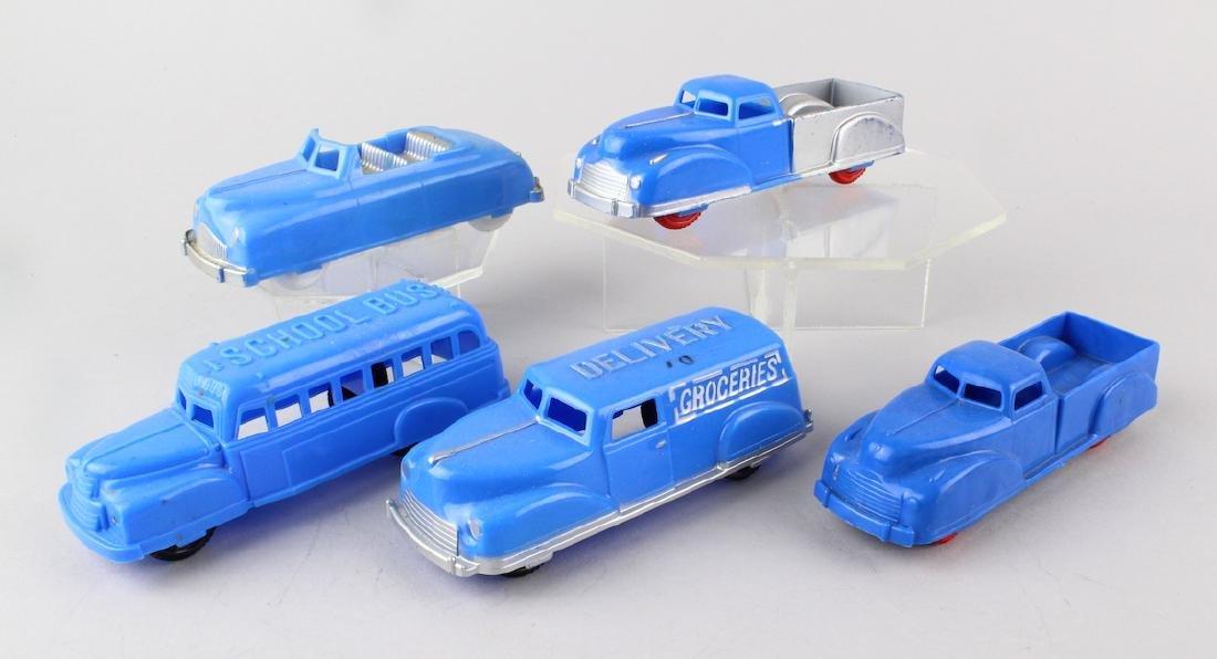 1950s Renwal Plastic Trucks and Car