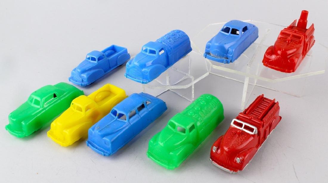 1950s Plastic Trucks & Cars