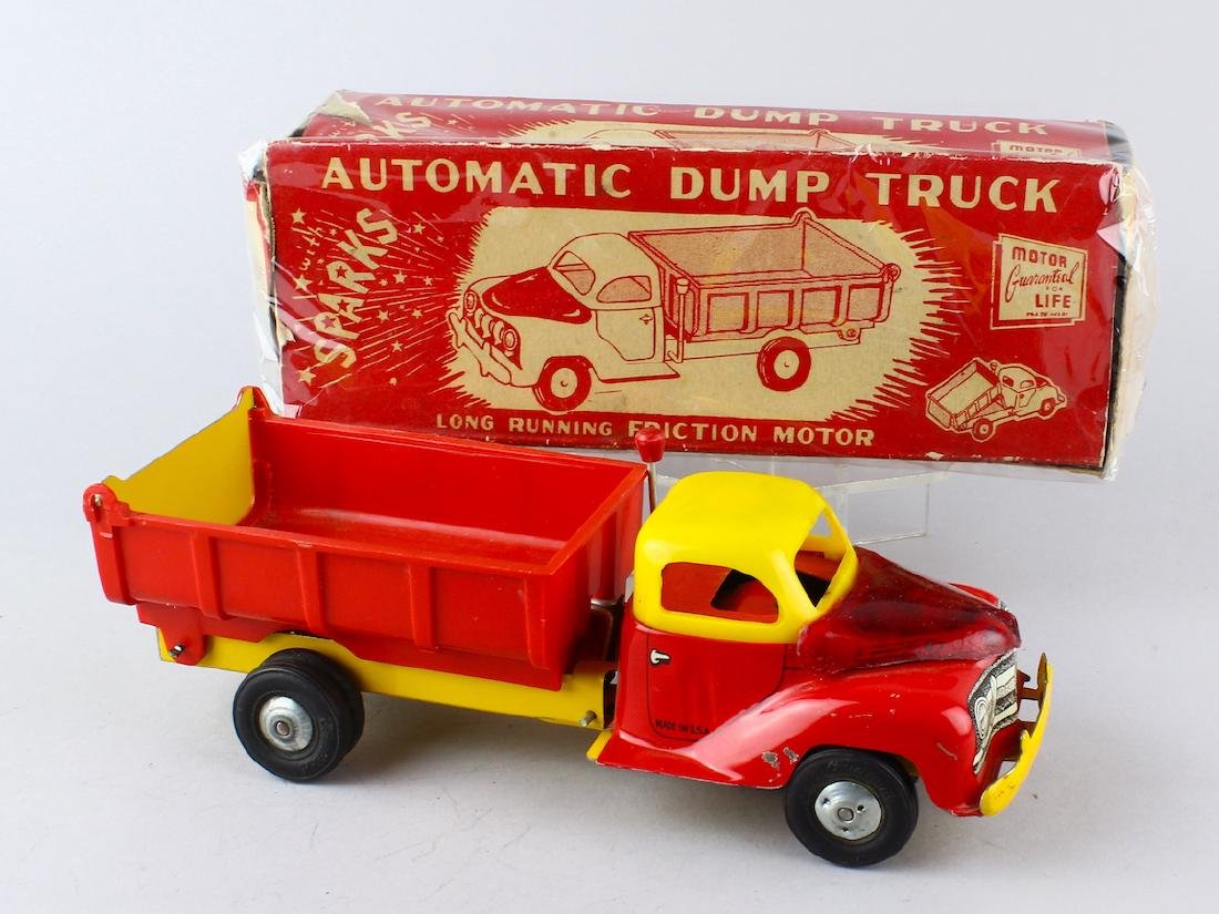 Courtland Automatic Dump Truck in Box
