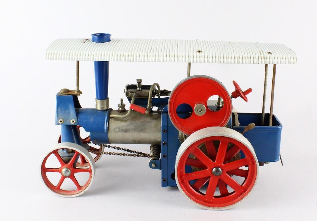 Mamod Vintage Traction Steam Engine with Roof