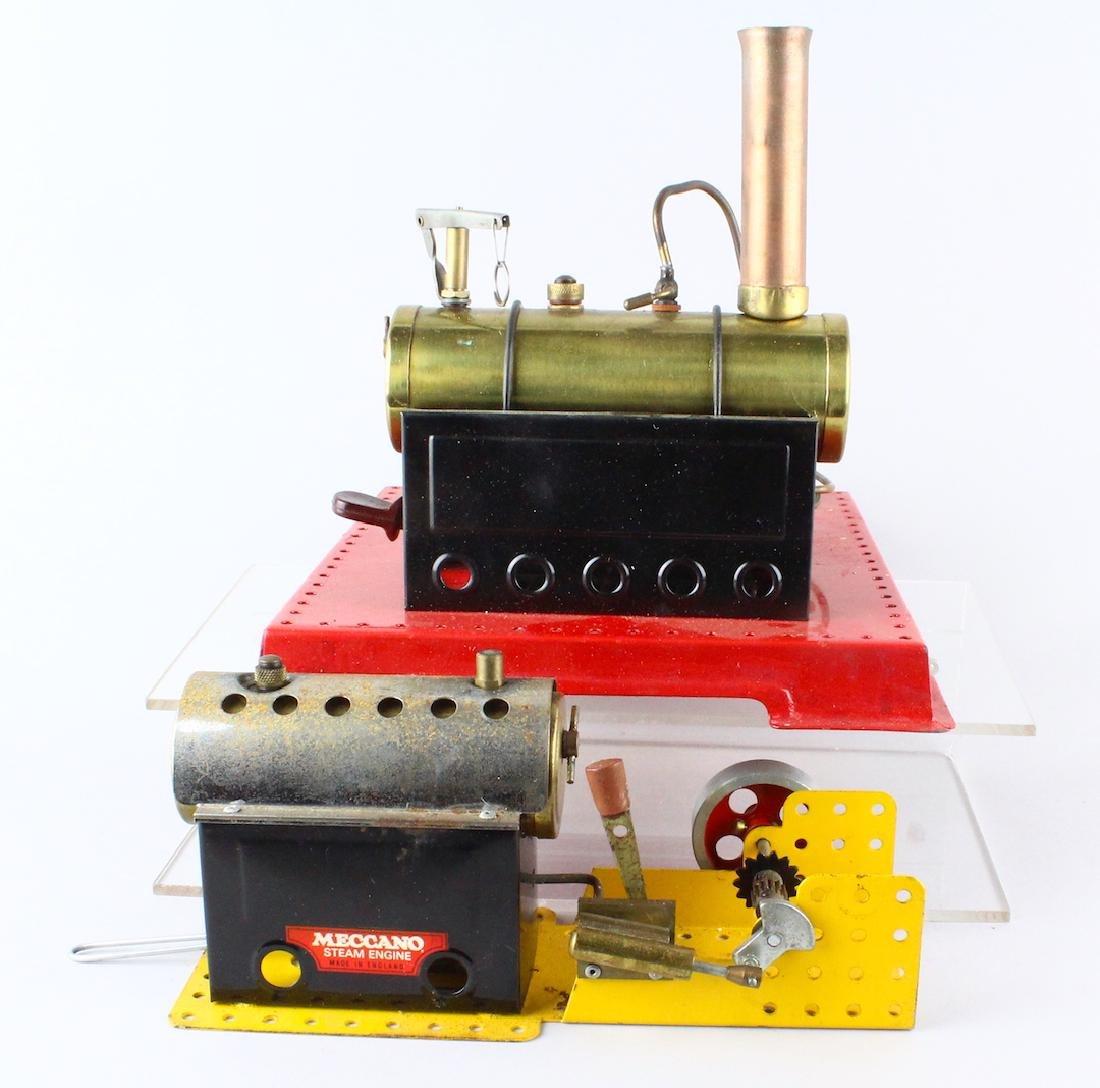 Mamod and Meccano Live Steam Engines