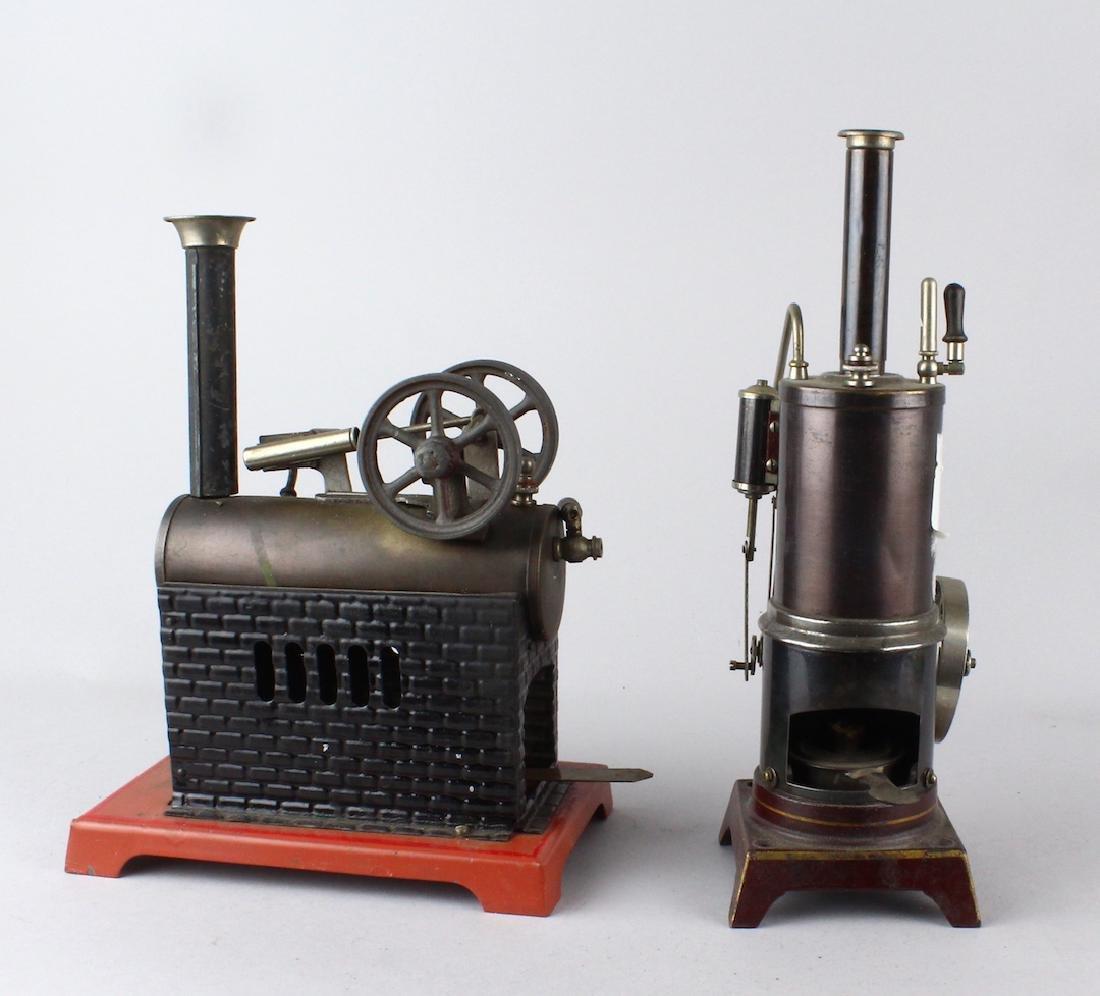 Pair of Bing Steam Engines