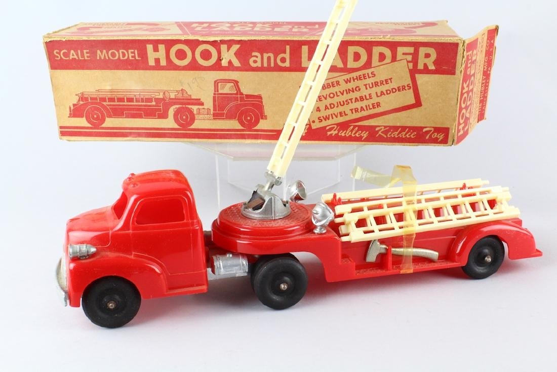 Hubley Hook & Ladder Fire Truck in Box
