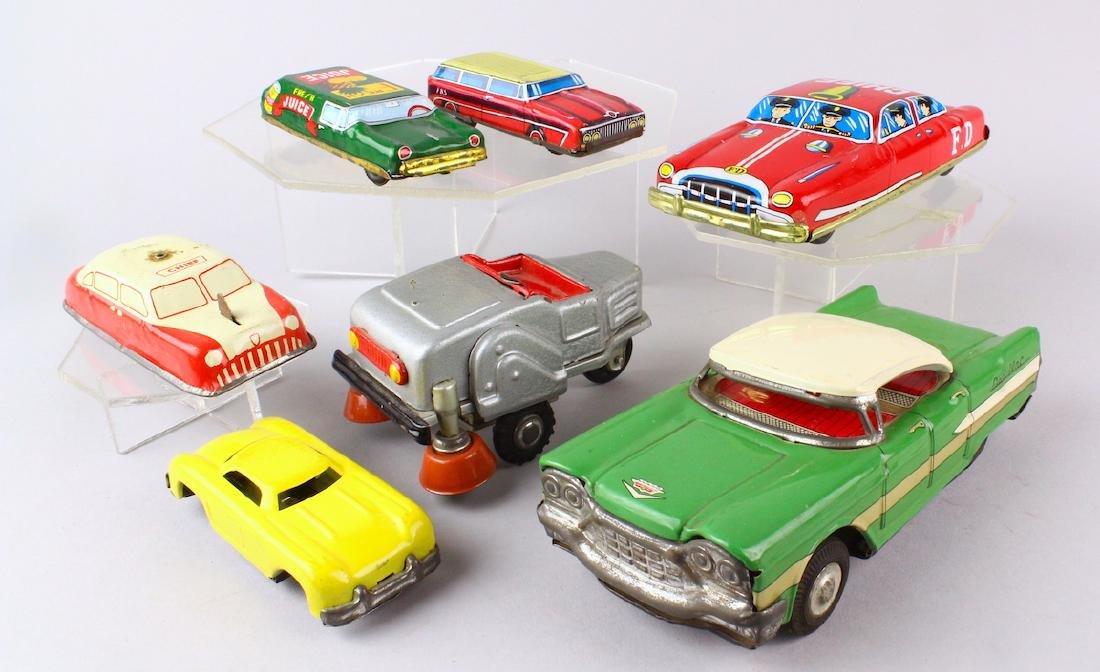 1950s Japan Tin Cars