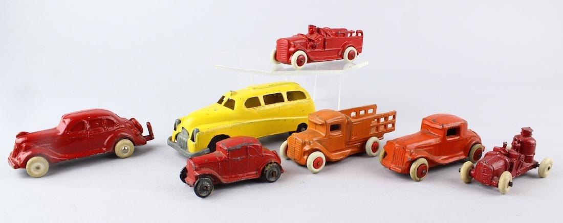 1930s Slush Cars & Trucks Lot