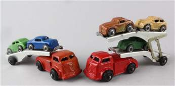 Barclay Car Carriers with Cars