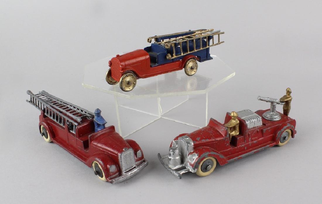 1930s Tootsietoy Fire Engines