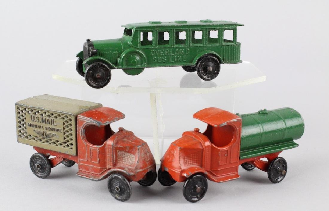 Tootsietoy Mack Trucks and Bus
