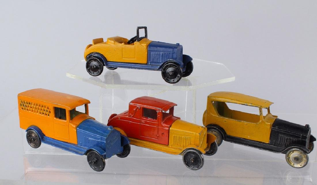 1930s Tootsietoy Buicks & Oldsmobile