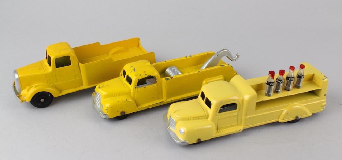Tootsietoy Delivery Trucks & Wrecker