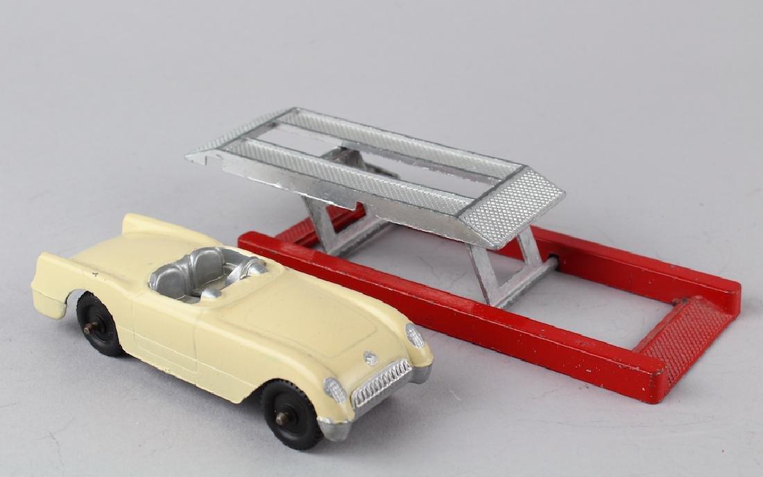 Tootsietoy Corvette and Car Lift