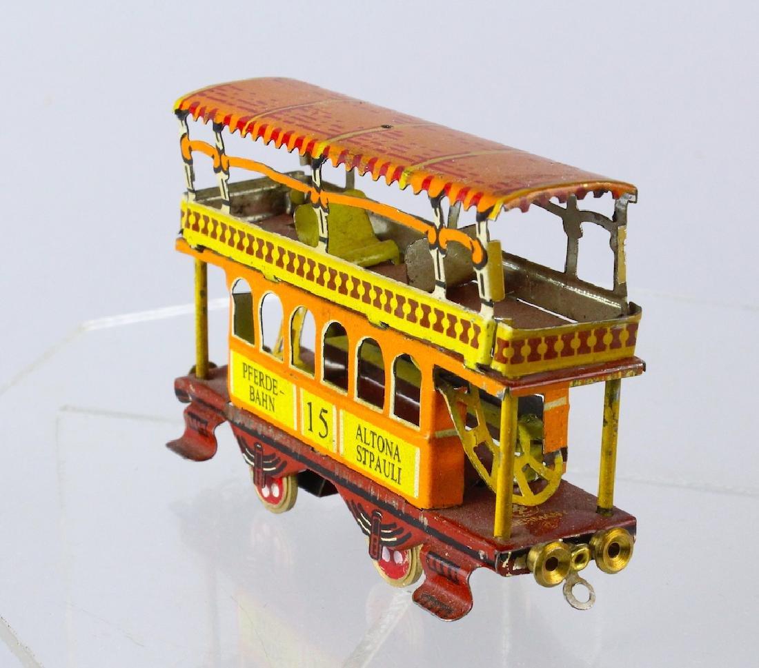 German Tin Trolley