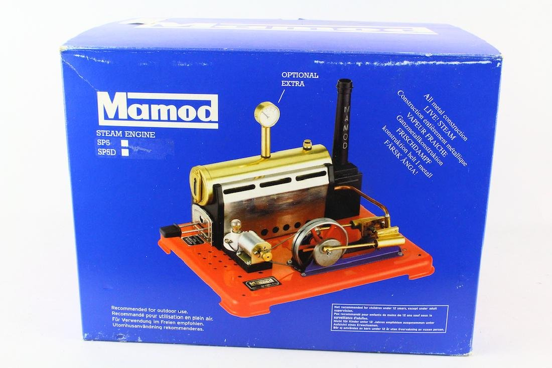 Mamod Brass Steam Engine Mint in Box