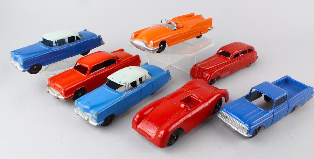 Tootsietoy Cars Including Buick LeSabre & Porsche