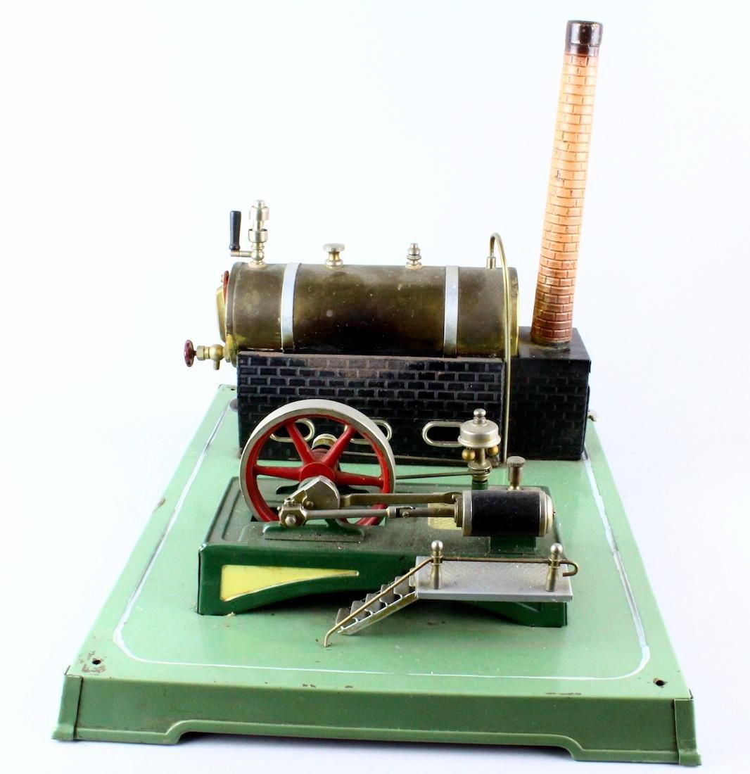 German Steam Engine Brass Boiler