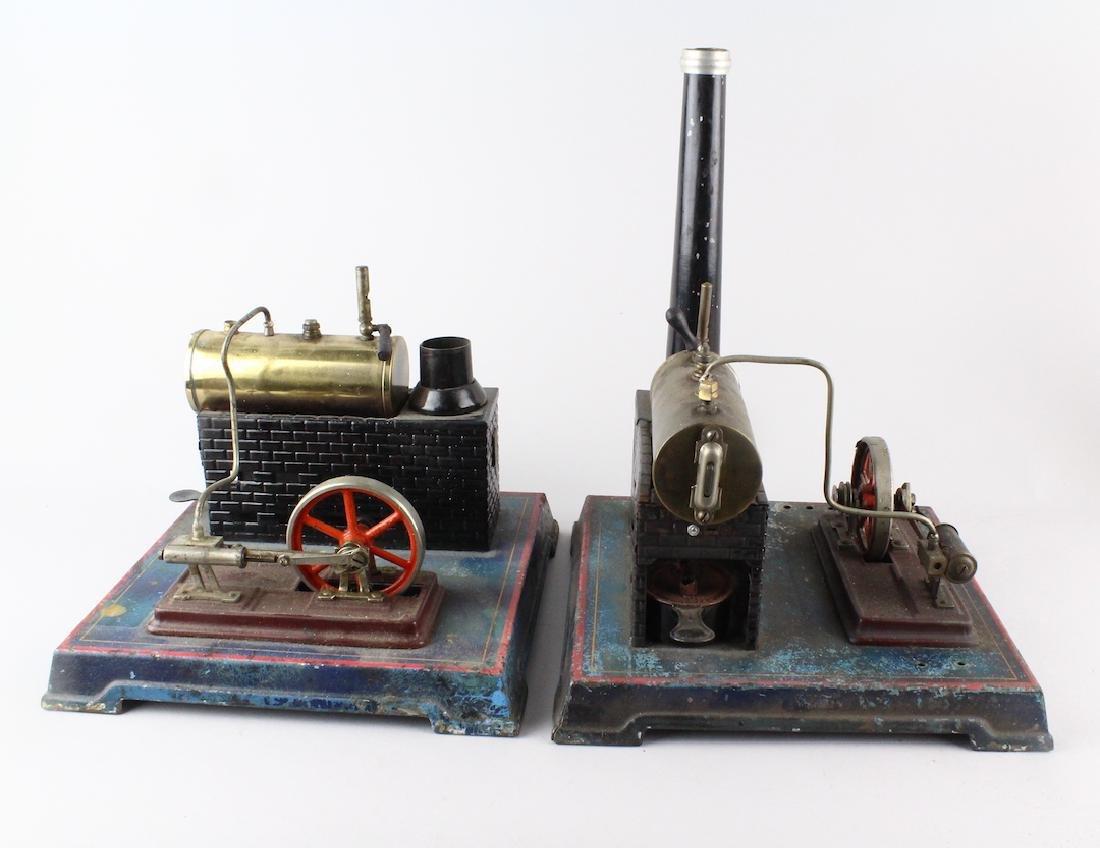 German Steam Engine Doll/Bing