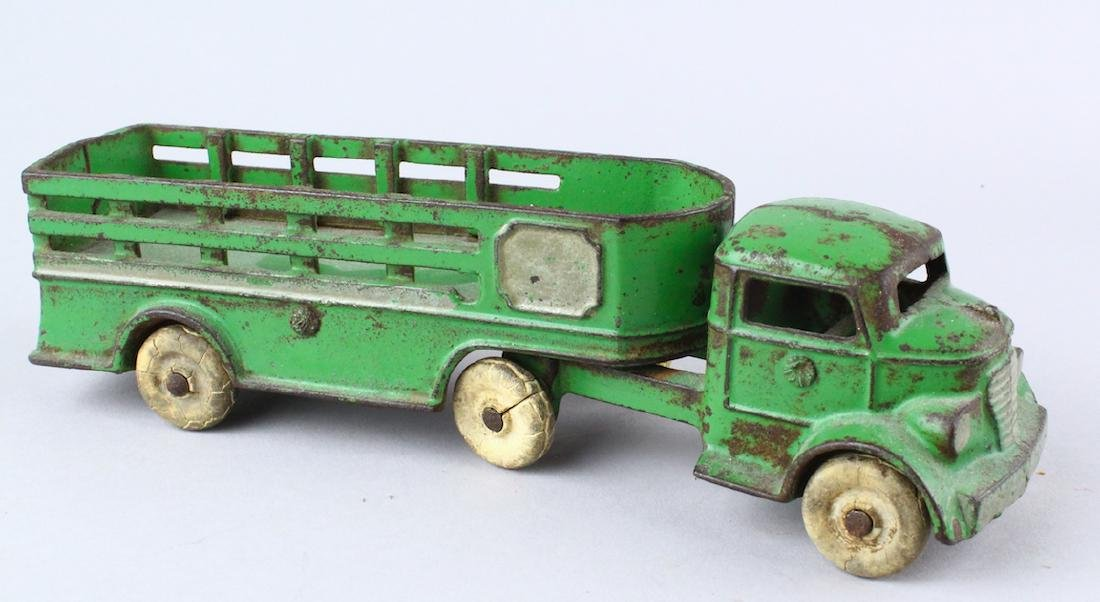 Kenton Cast Iron Tractor Trailer