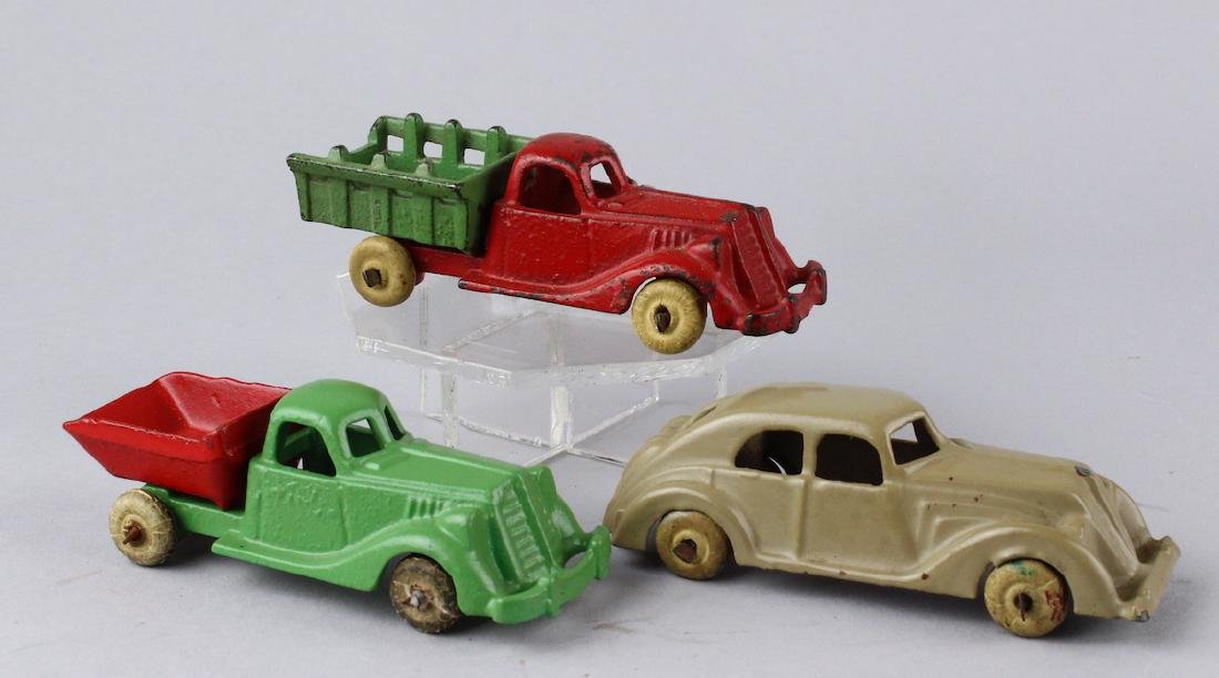 Hubley Cast Iron Car & Trucks