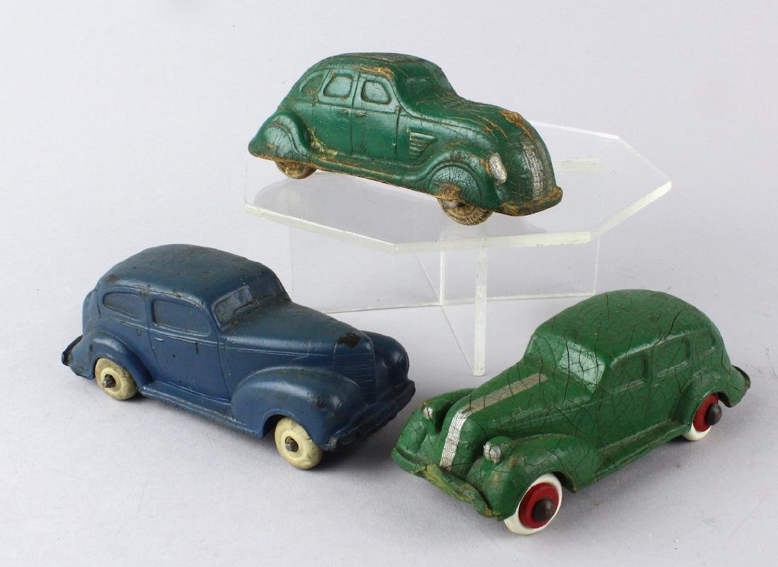 1930s Rubber 1930s Streamlined Autos