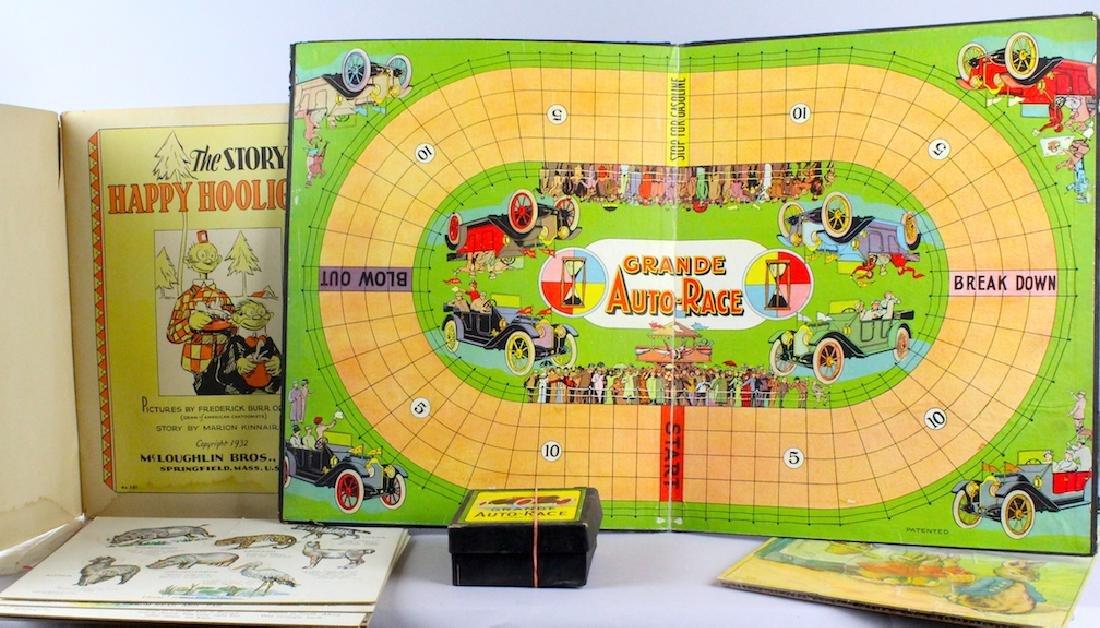 Auto Race Game Happy Hooligan & Peter Rabbit - 2