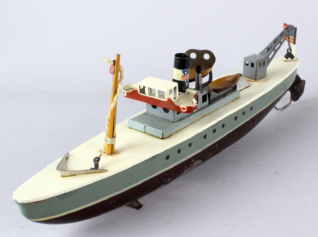 Arnold German Tin Cargo Ship