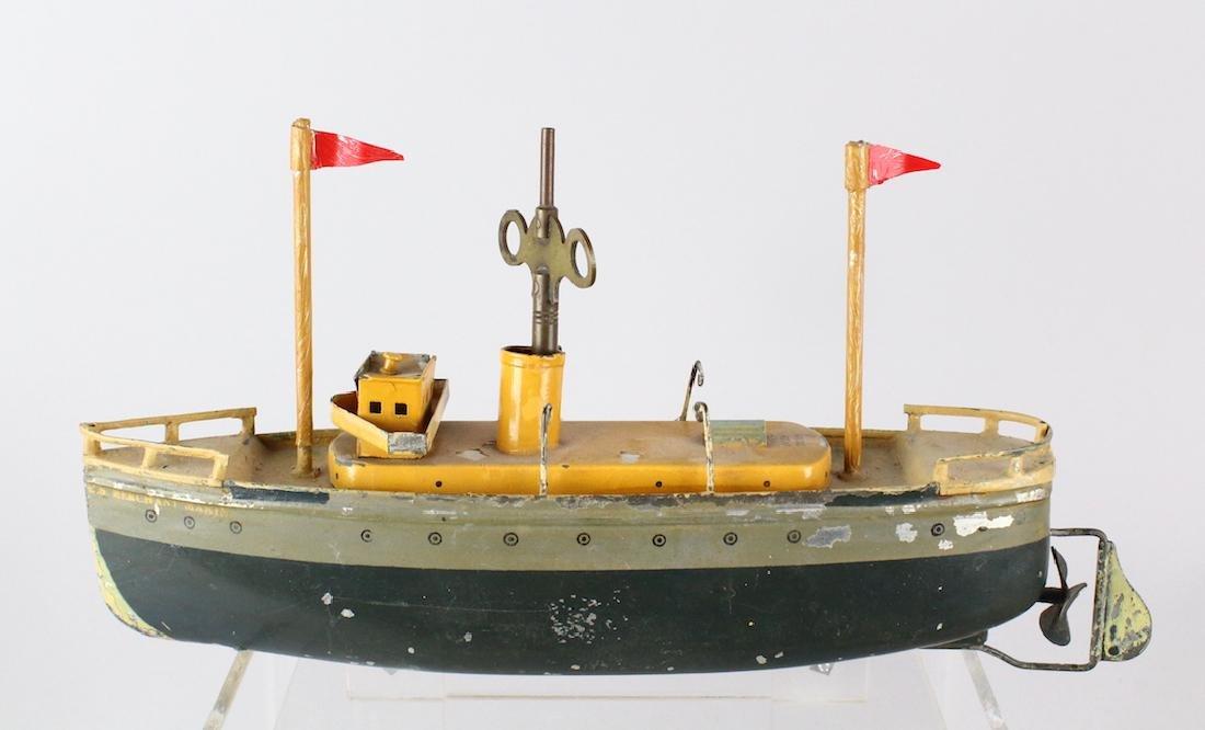 Ives Merchant Marine Gunboat
