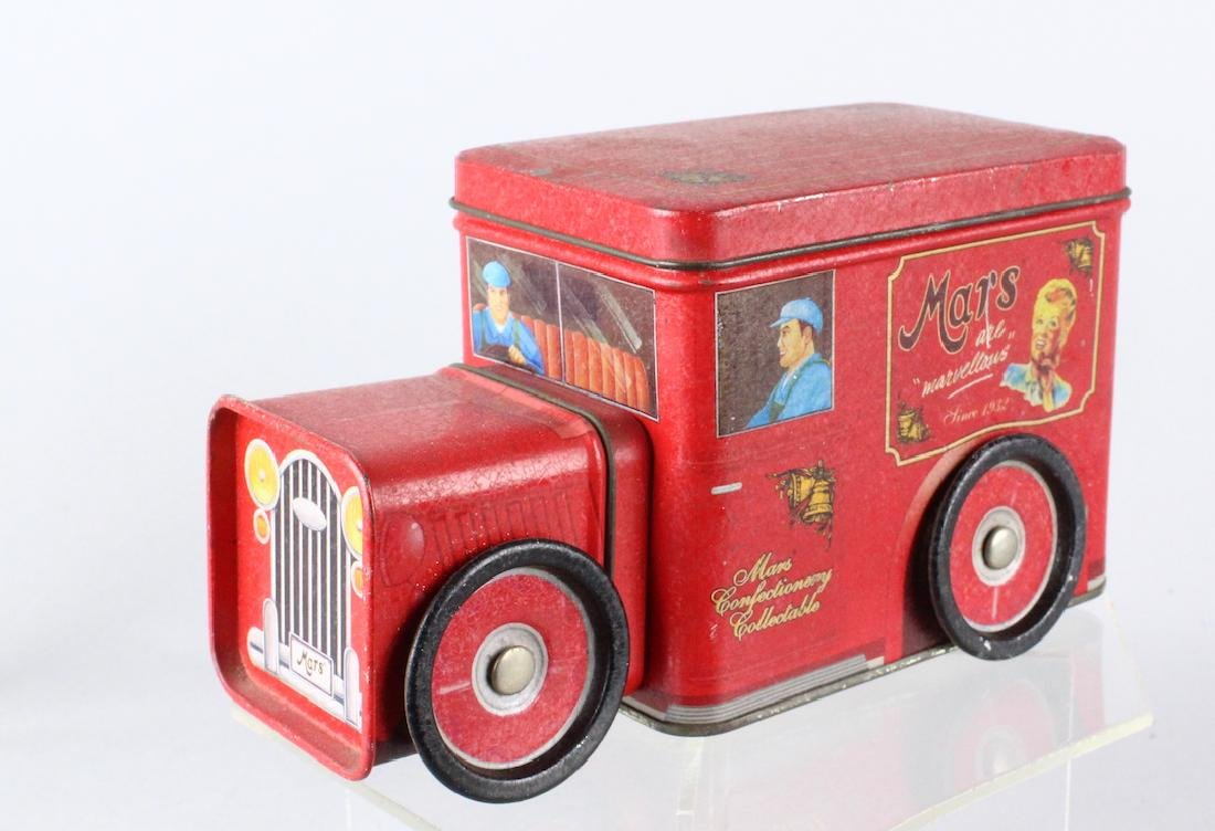 Mars Biscuit Tin Delivery Truck