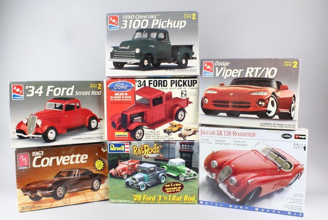 AMT Revel & Testors Hot Rods & Car Models