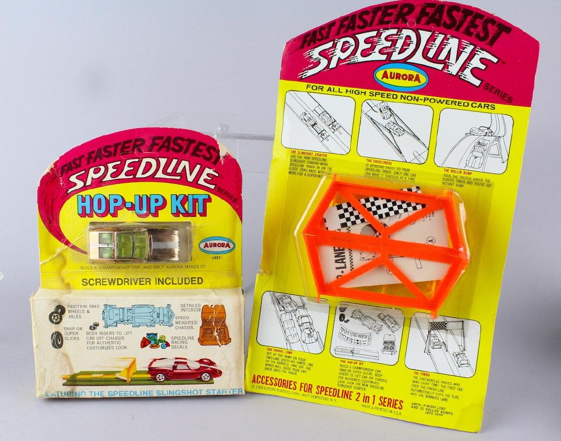 Aurora Hop Up Kit & Car & Speed Line Mint in Package