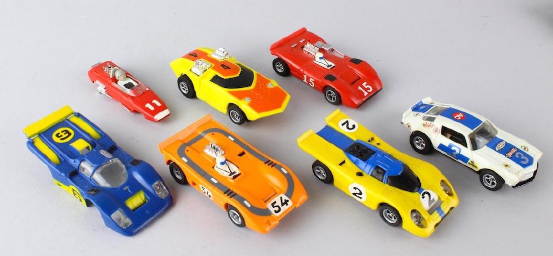 Aurora Slot Car AMX Cars