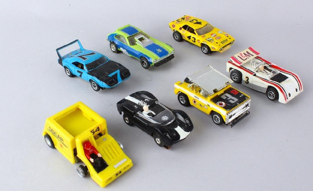 Aurora Slot Car T-Jets and AMX Cars