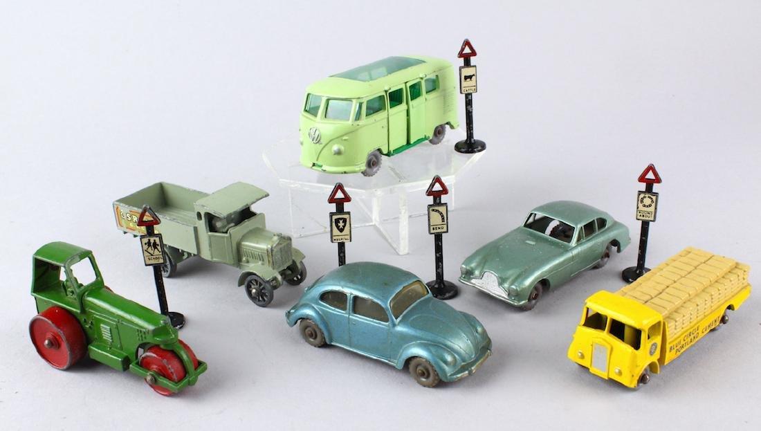 Matchbox Grey Wheels & Lesney Signs