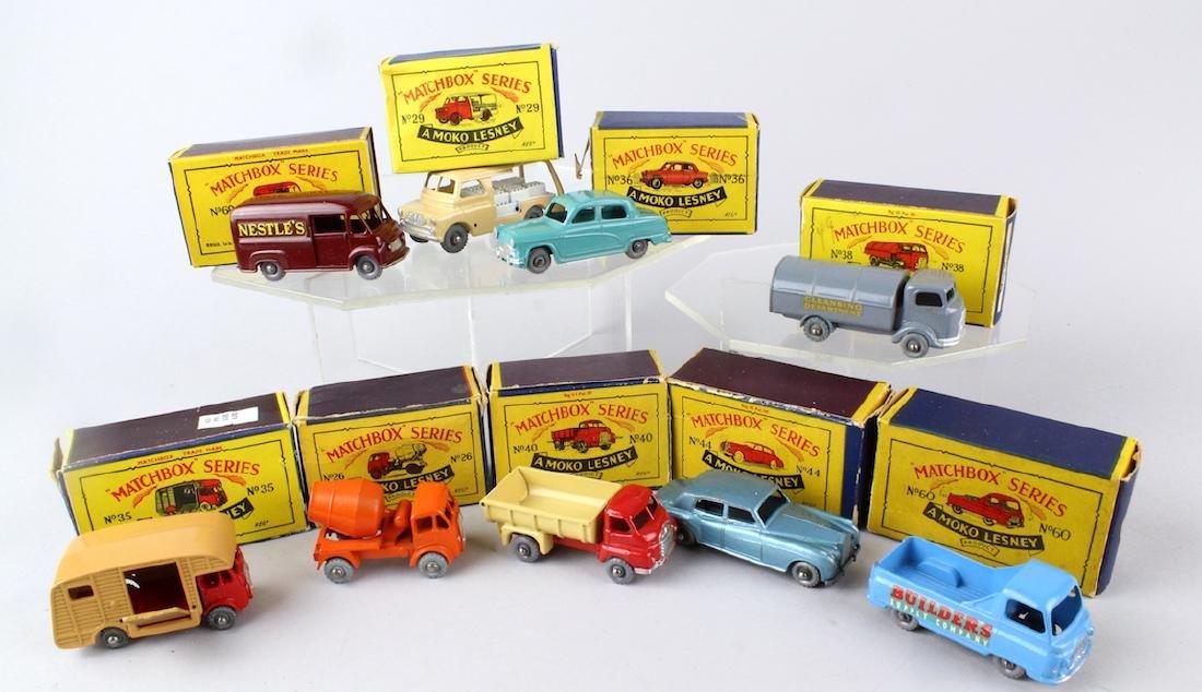 Matchbox Grey Wheels Car in the Box
