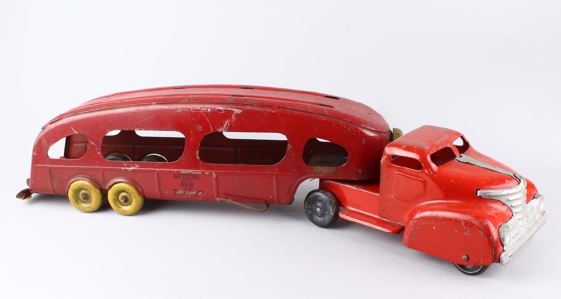 Louis Marx Pressed Steel Car Carrier