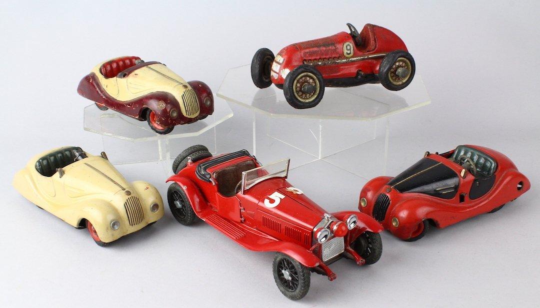 5 Schuco German Autos Lot